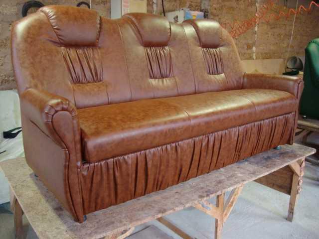 Предложение: Перетяжка и ремонт мягкой мебели.
