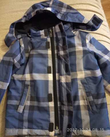 Продам куртку на мальчика р-р 104-Мембрана
