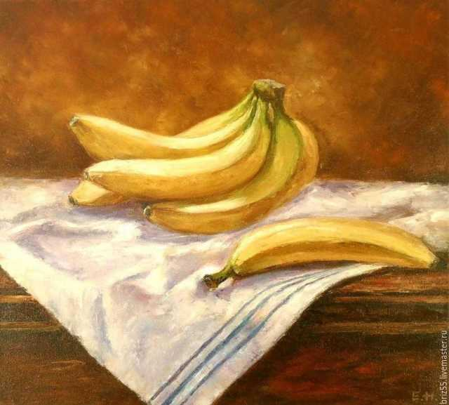 Продам Картина маслом Бананы