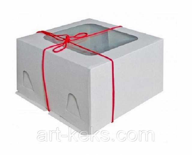 Продам Коробка для торта 300х300х190 мм. Гофро.