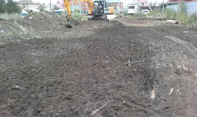 Предложение: Расчистка участка.