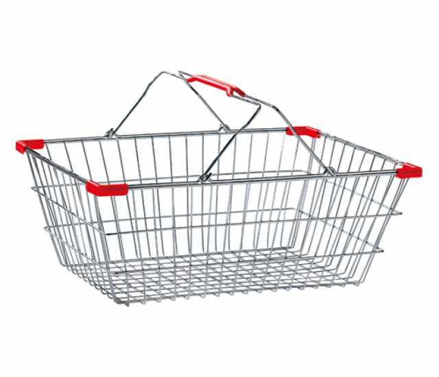Продам Покупательские корзины оцинкованные