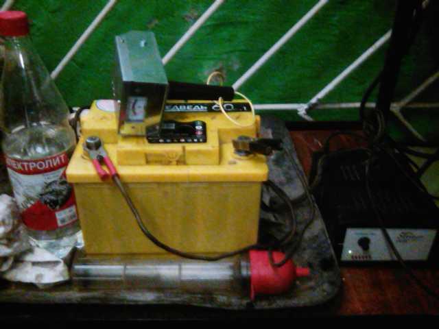 Предложение: ремонт-зарядка акб