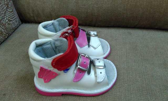 Продам Туфли детские для девочки Р.19 (11,5 см)