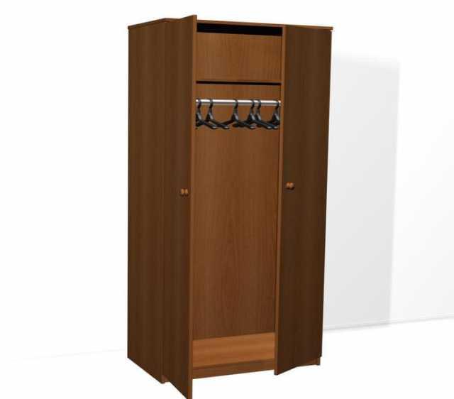 Продам: Шкаф для одежды ДСП двухстворчатый ,5р