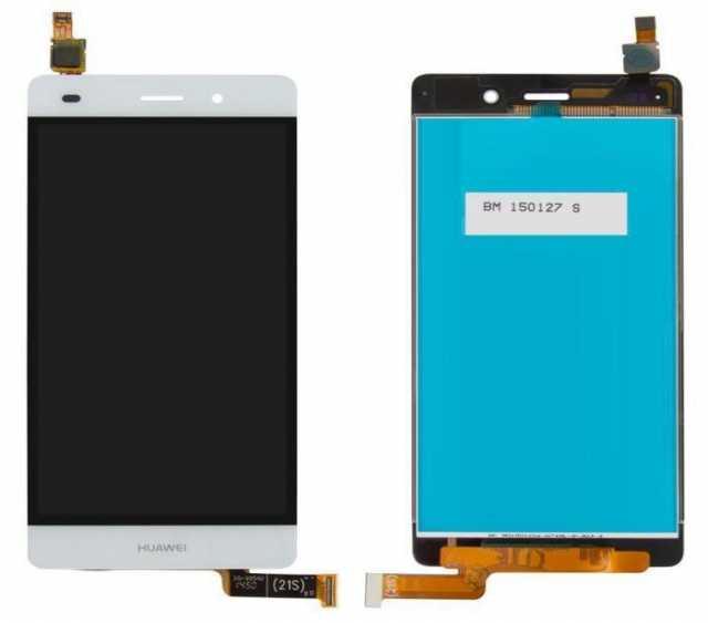 Продам Дисплей с тачскрином для Huawei P8 Lite