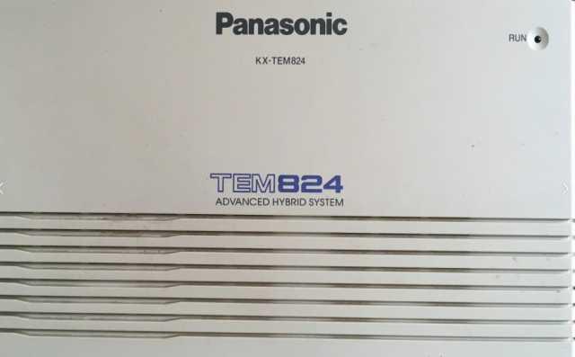 Продам Мини АТС Panasonic KX-TEM824