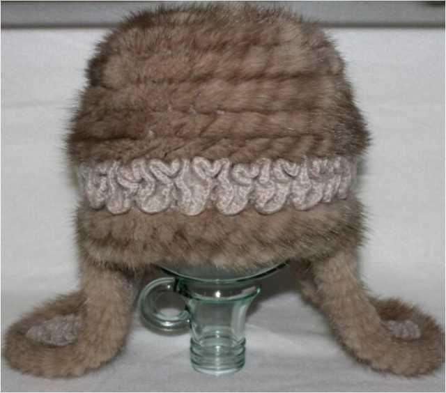 Продам Новая женская шапка (вязанная норка)