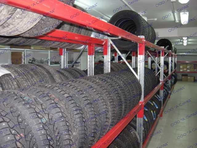 Продам: Стеллажи для хранения колес из металла