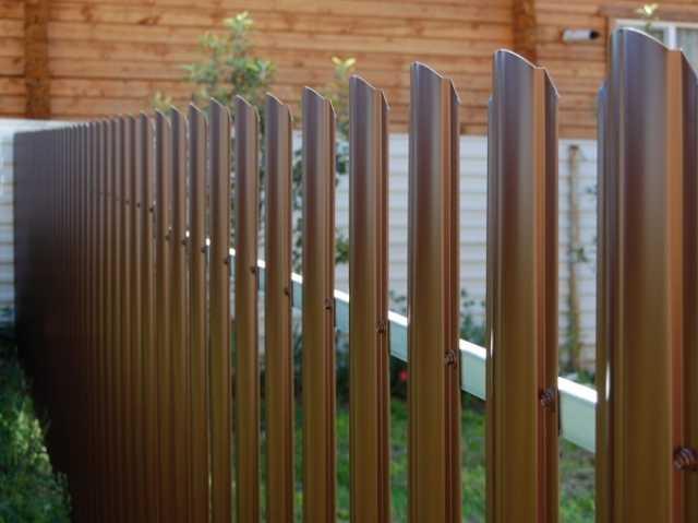 Продам Забор из металлического штакетника