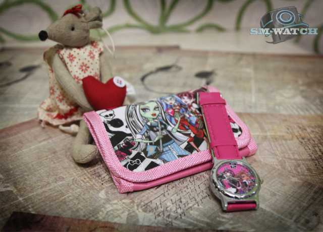 Продам Детские наручные часы Монстр Хай