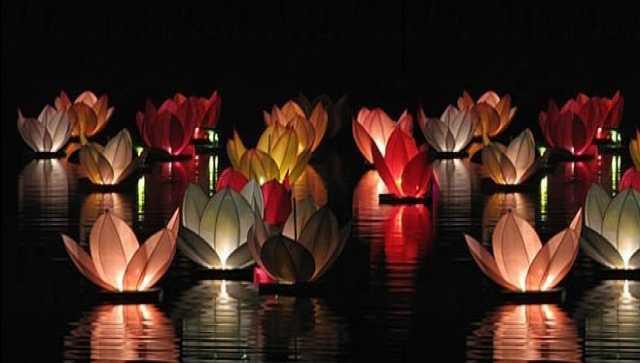 Продам Плавающие водные фонарики в форме лилий