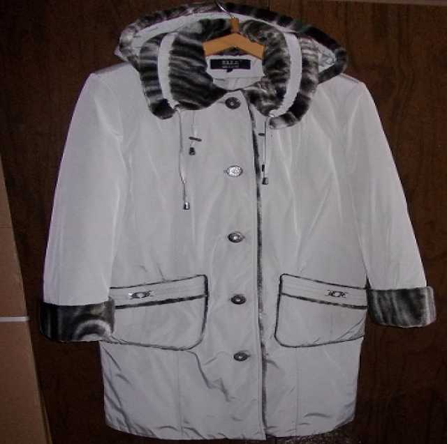 Продам Пуховик - пальто (48) ELLE.