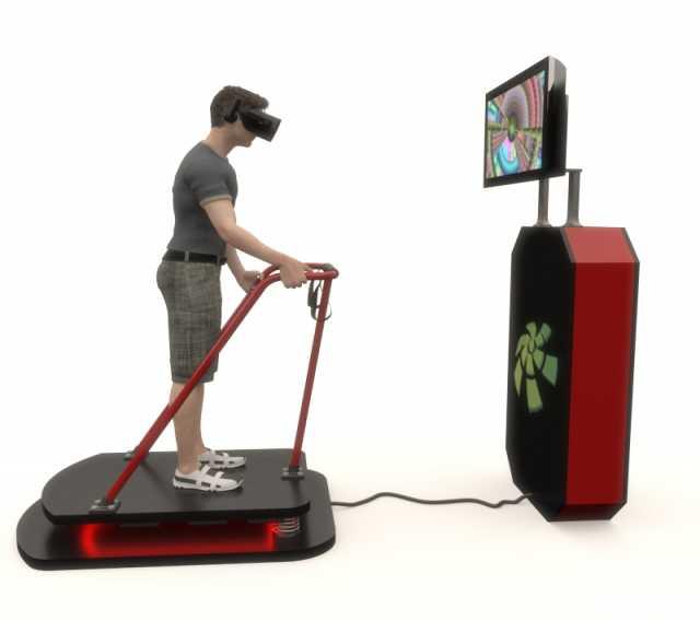 Продам VR аттракцион VibRo на пружинном механиз