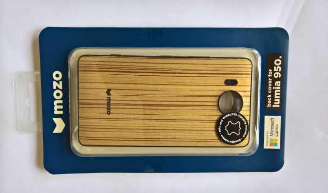 Продам задняя крышка Lumia 950 zebra wood