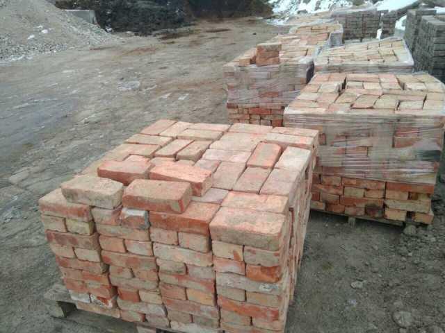 Продам Кирпич б/у красный и белый с доставкой (