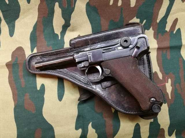 Продам ммг пистолет Люгер Р08