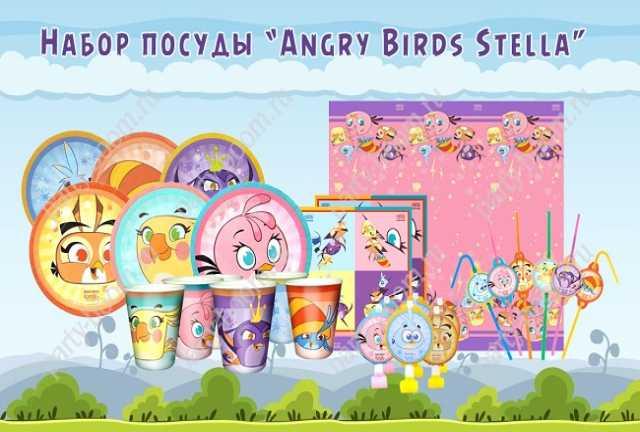 Продам Праздничная посуда Angry Birds Stella