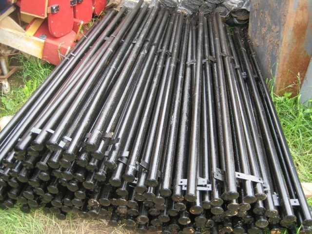 Продам Столбы металлические 2м; 2,4м; 3м