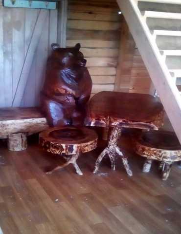 Продам: Резьба Скульптура Авторская мебель