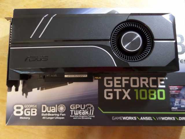 Продам: Видеокарта ASUS GeForce GTX 1080