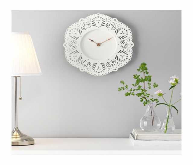 Продам Часы ИКЕА - нежные ажурные часы СКУРАР