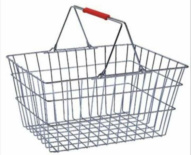 Продам корзина покупательская металл