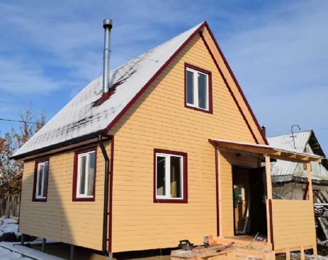 Продам Двухэтажный дачный дом 5,5 х 5,5.