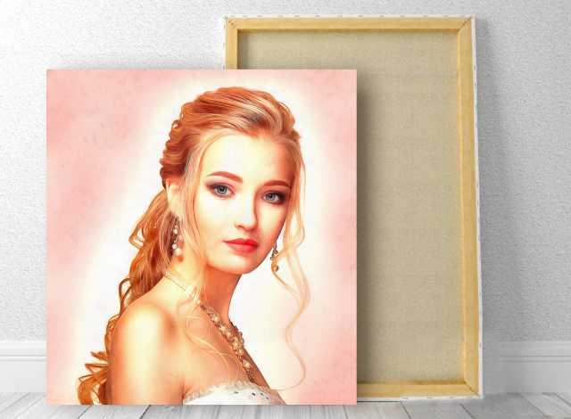 Предложение: Портрет под масло по фото в Энгельсе
