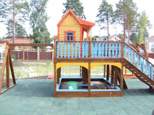 Продам Детские площадки, городки, домики