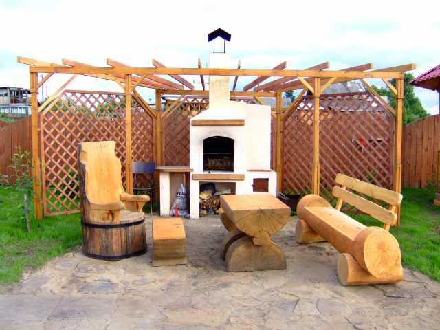 Продам Мебель массивная, из стволов дерева