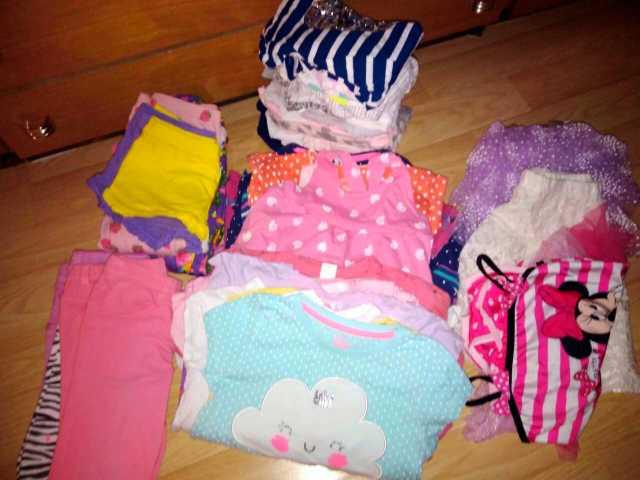 Продам Детские вещи для девочки пакетом
