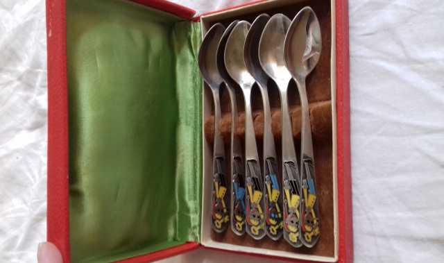 Продам Чайная ложка серебро СССР