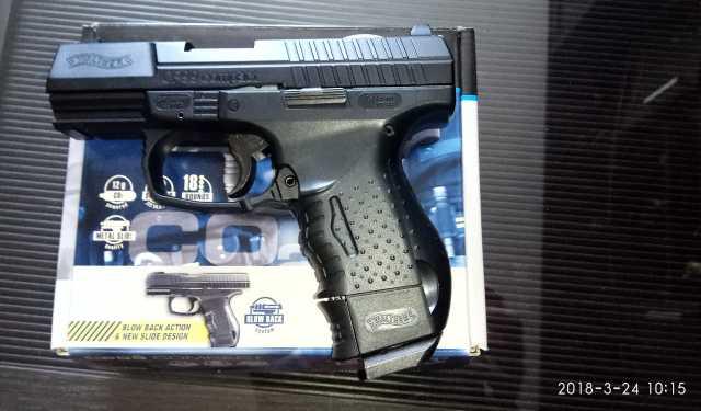 Продам: пистолет пневматический Вальтер П 99 ком