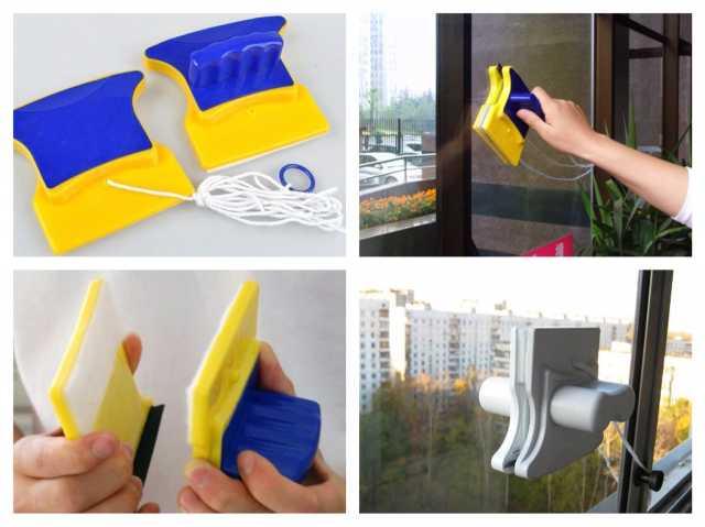 Продам Магнитная щетка для двухстороннего мытья
