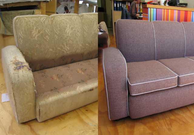 Предложение: Перетяжка мебели на дому