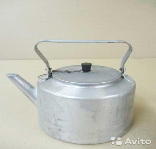 Продам Чайник литой алюминиевый 5 л