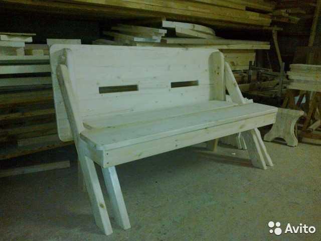 Продам Лавка-стол трансформер