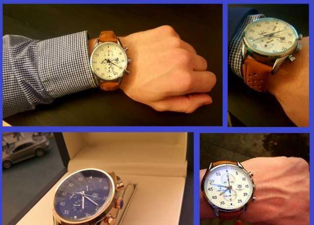 Продам Часы мужские Tag Hauer Carrera