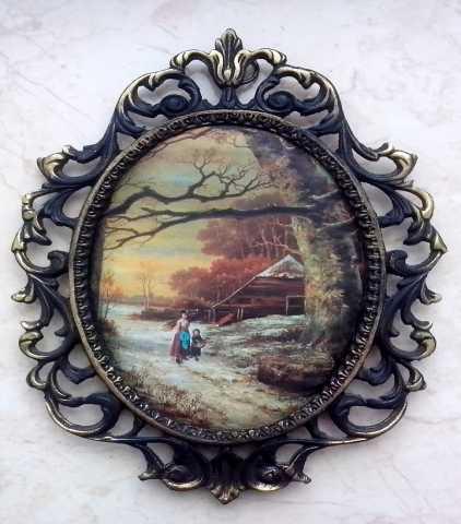 Продам Картина на шёлке