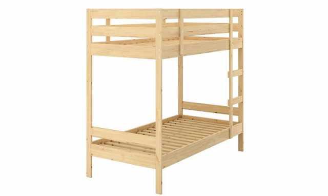 Продам: Кровать 2-ярусная из массива сосны