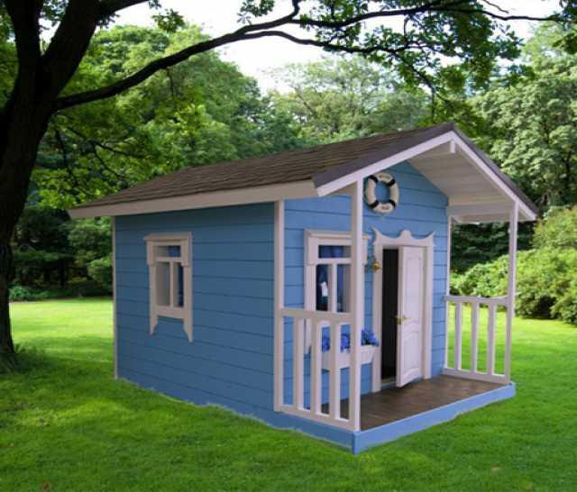 Продам: Домик игровой детский из дерева
