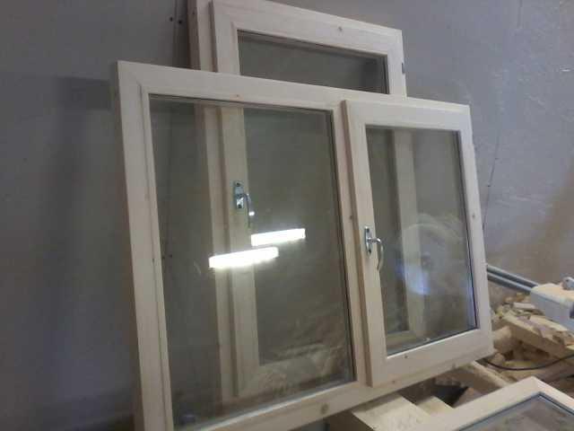 Продам Деревянные окна, балконные оконные блоки