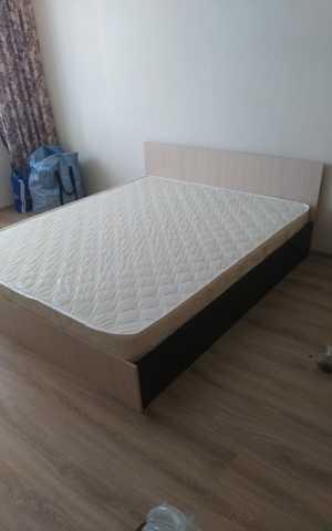 Продам Кровать эконом с матрасом