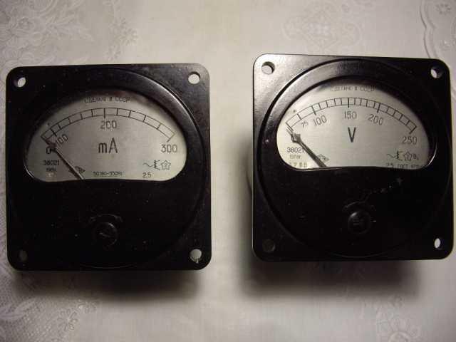 Продам: Вольтметр +миллиамперметр