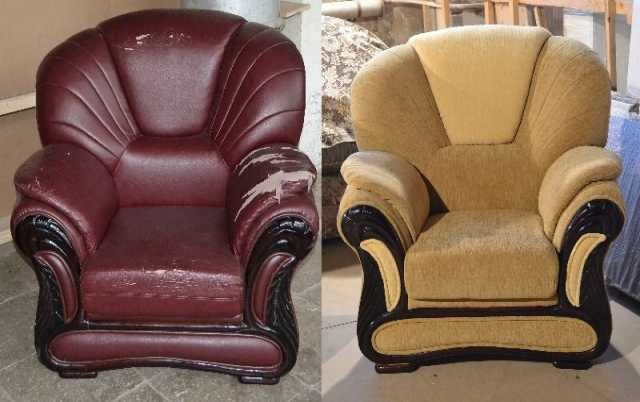 Предложение: Перетяжка мебели. Ремонт, реставрация