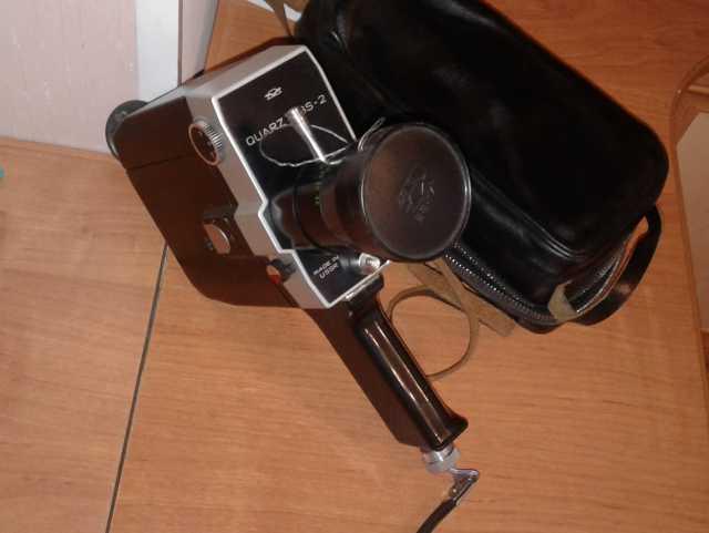 Продам Кинокамера 8мм  Кварц