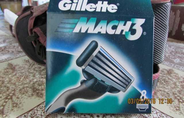 Продам лезвия для бритья Жилет Мак 3