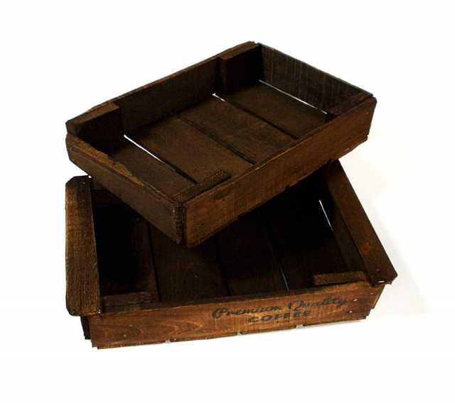 Продам Подносы деревянные комплект. Лофт стиль