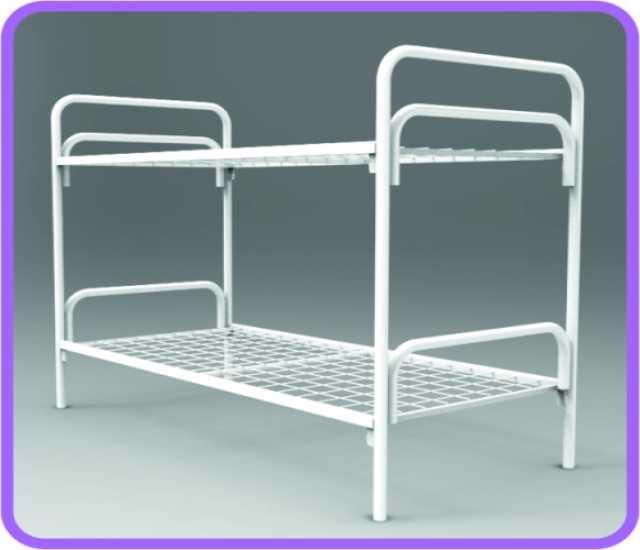 Продам: Кровать двухъярусная взрослая металличес
